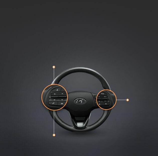 Steering wheel remote controls