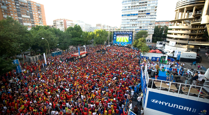 Hyundai Fan Park Madrid
